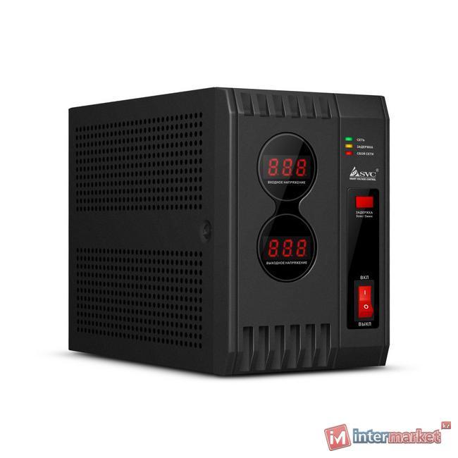 Стабилизатор SVC AVR-1000, Black