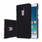 Чехол для телефона NILLKIN для Redmi Note 4 MTK (Super Frosted Shield) Чёрный
