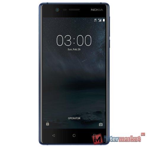 Смартфон Nokia 3 Dual sim, Blue