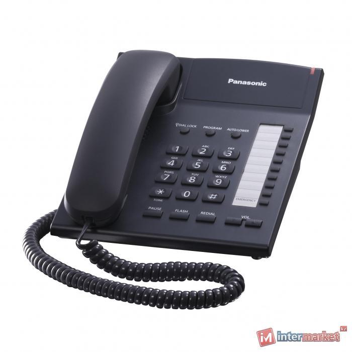 Телефон Panasonic KX-TS2382CAB (Черный)