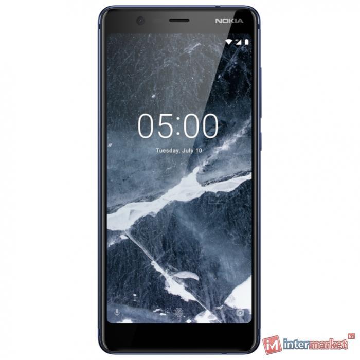 Телефон сотовый NOKIA 5.1 (Blue)