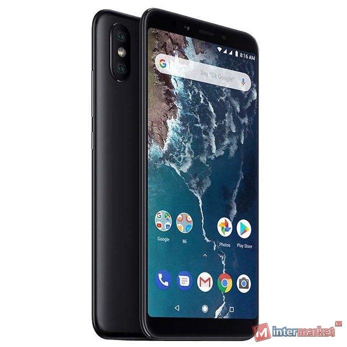 Телефон сотовый XIAOMI Mi A2 32GB Black