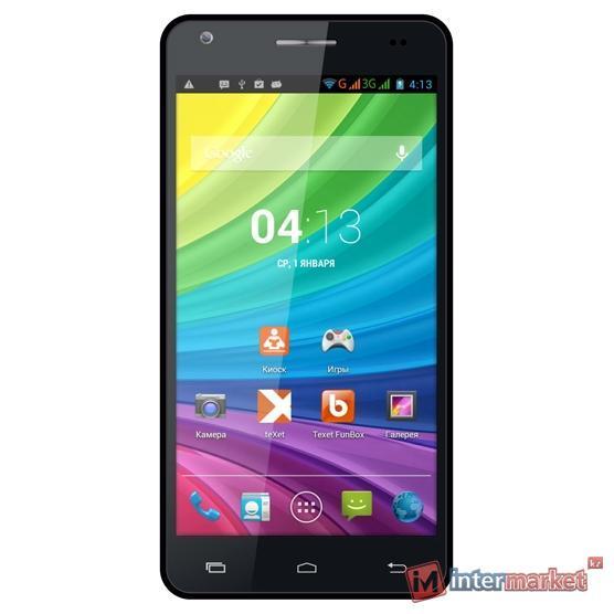Смартфон teXet X-maxi qHD TM-5172 Black