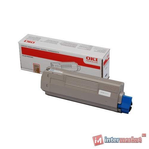 Тонер-картридж OKI Toner-MC861-Black - 9.5k Non EU