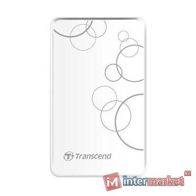 Внешний жесткий диск Transcend, StoreJet 25A3, TS2TSJ25A3W, 2 TB