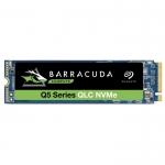 """Твердотельный накопитель Seagate SSD BarraCuda Q5 3D NAND ZP500CV3A001 500GB 2,5"""" PCIe Gen3 x4, NVMe 1.3 ZP500CV3A001"""