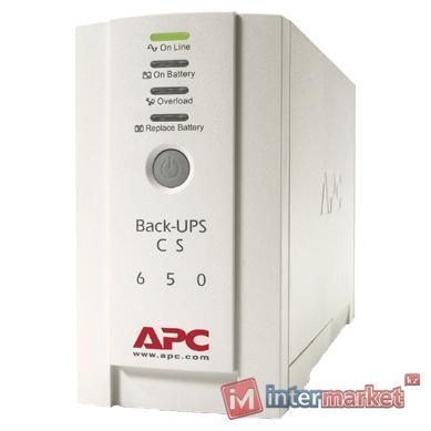 Источник бесперебойного питания APC by Schneider Electric Back-UPS CS 650VA 400V