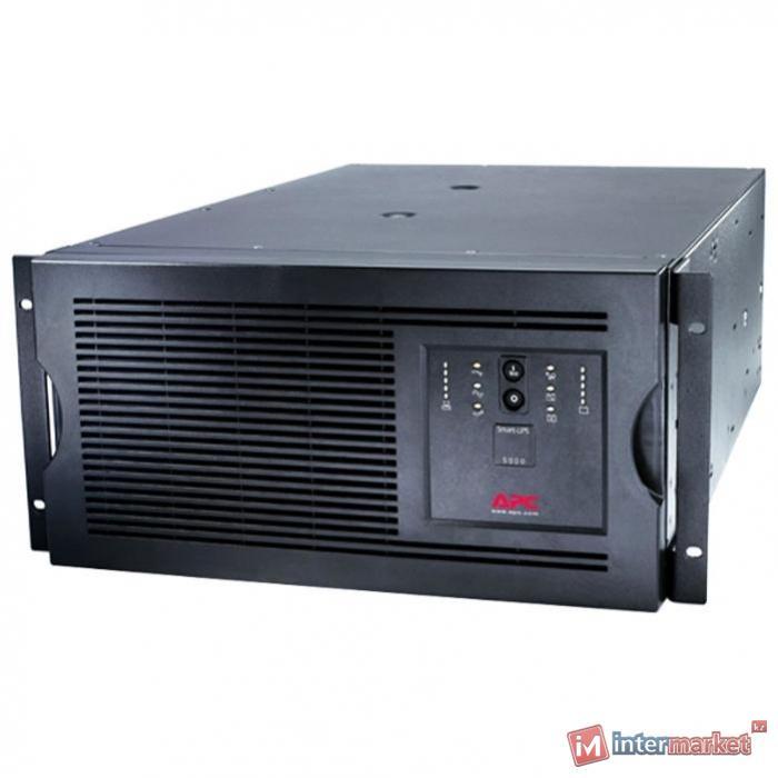 Источник бесперебойного питания APC Smart-UPS 5000VA RM 5U 230V
