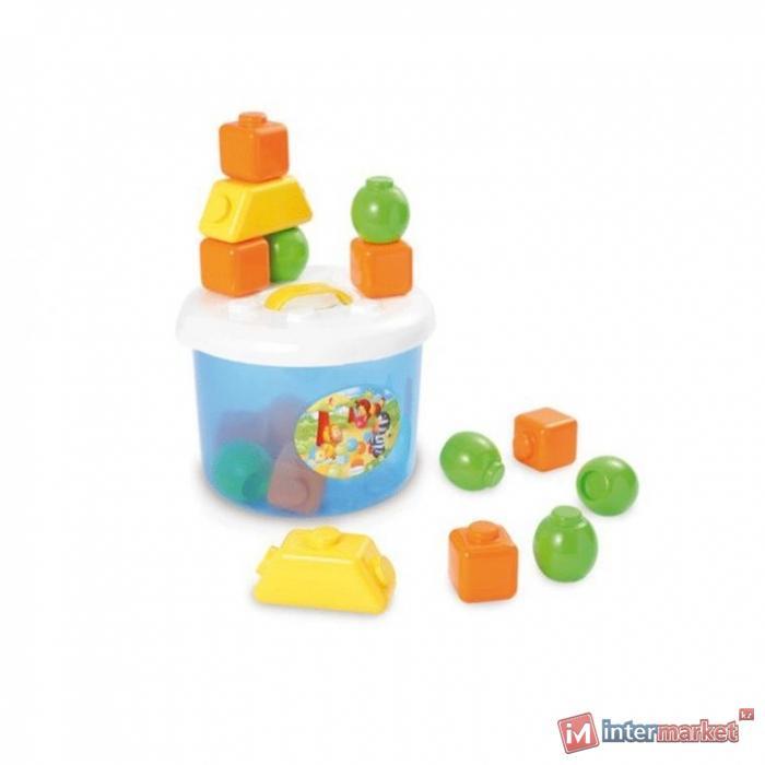 Кубики в ведерке Smoby (211150)