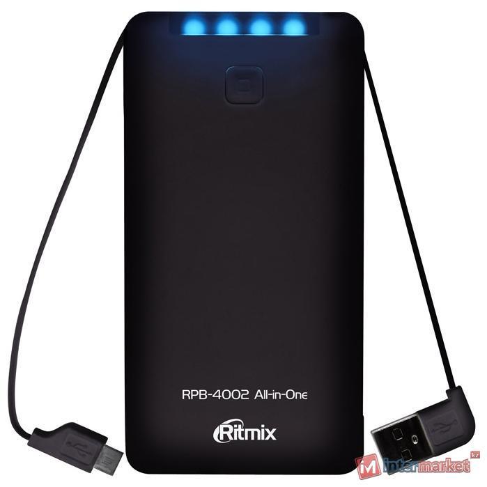 Зарядное устройство Ritmix RPB-4002, black