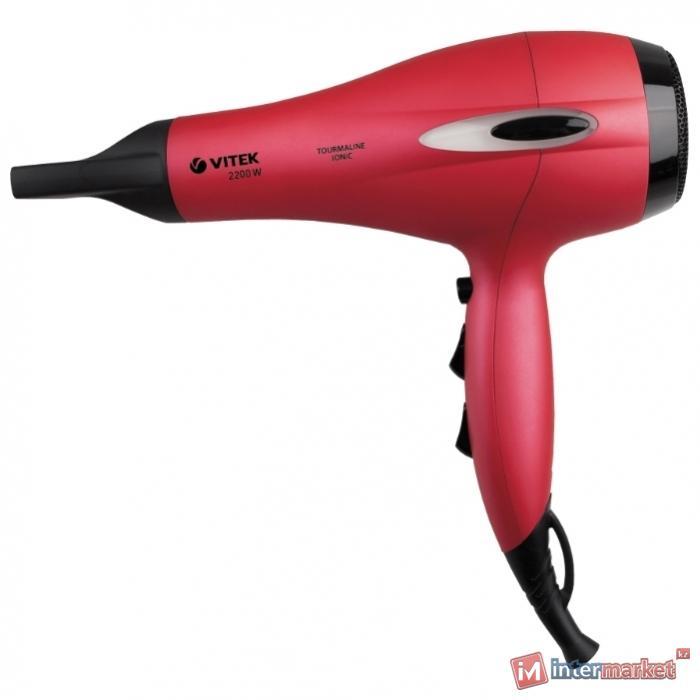 Фен для волос VITEK VT-2329, красный