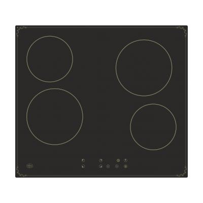 Электрическая варочная панель TESSA TS8 EC323 B