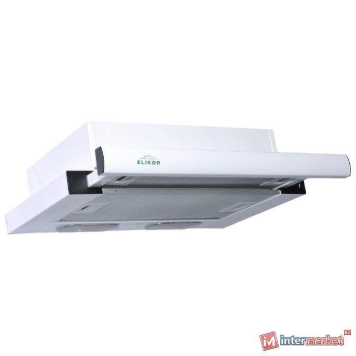 Вытяжка ELIKOR Интегра 60П-400-В2Л белый/белый