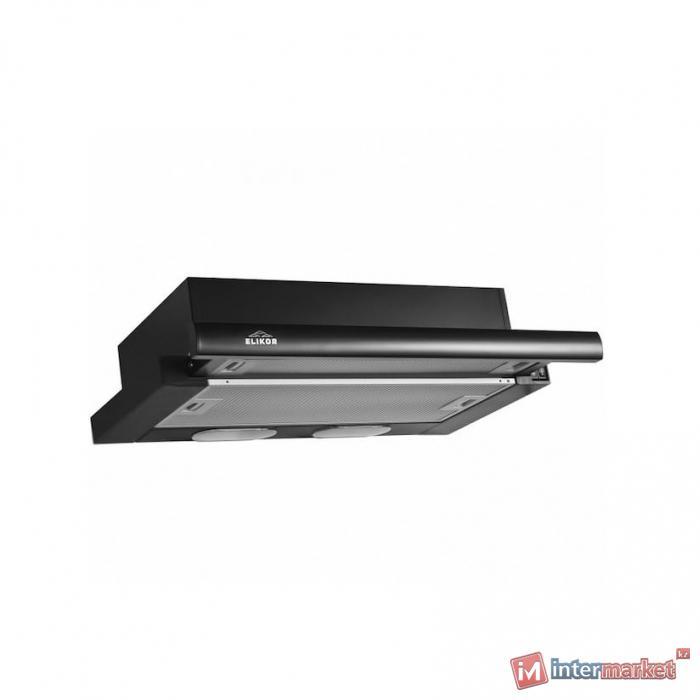 Вытяжка ELIKOR Интегра 60П-400-В2Л черный/нерж