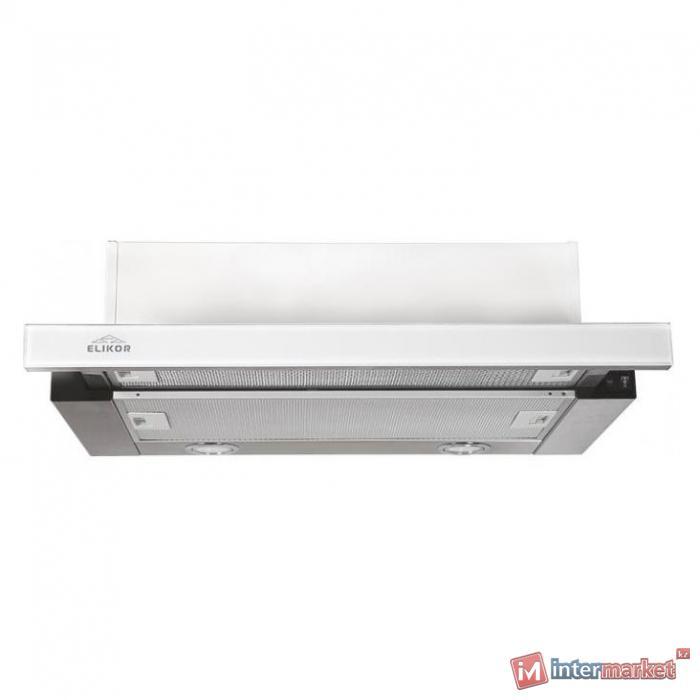 Вытяжка ELIKOR Интегра Glass 60Н-400-В2Г нерж/стекло белое