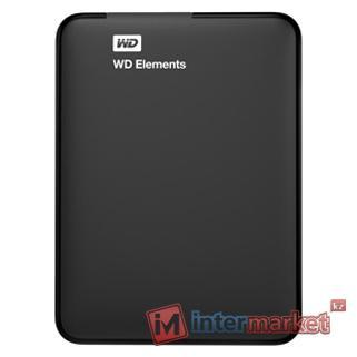 Внешний жесткий диск Western Digital WDBUZG0010BBK-EESN (Black)