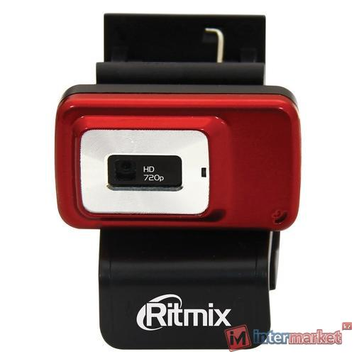 Веб-камера Ritmix RVC-053M, Red