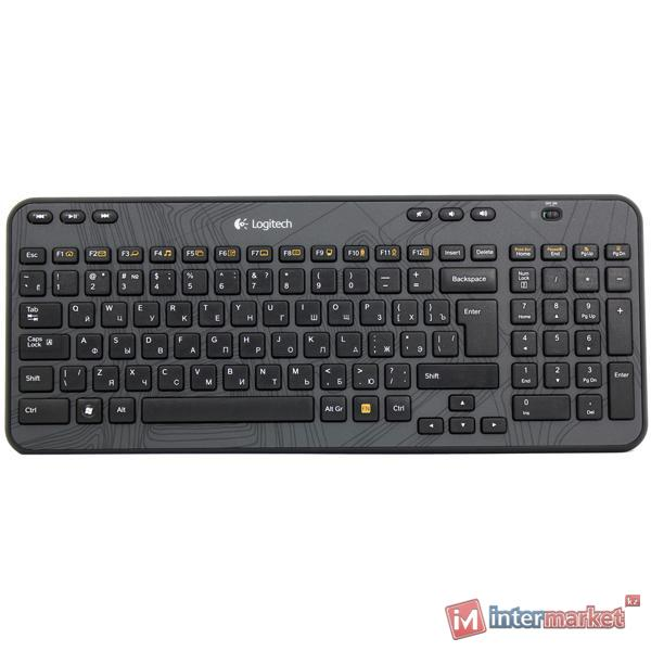 Клавиатура Logitech Wireless Keyboard K360 Black USB