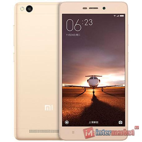 Смартфон Xiaomi Redmi 3, 16Gb, Gold