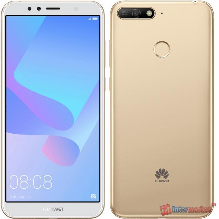 Смартфон Huawei Y6 Prime (2018) 16GB, Gold